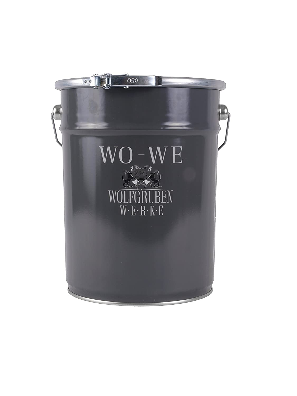 Dachfarbe Dachbeschichtung Sockelfarbe W510 WO-WE Licht-GRAU - 10L WOLFGRUBEN WERKE (WO-WE)