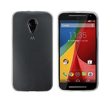 Luxburg® Glaze Funda de Silicon para Motorola Moto G 2 en Color ...