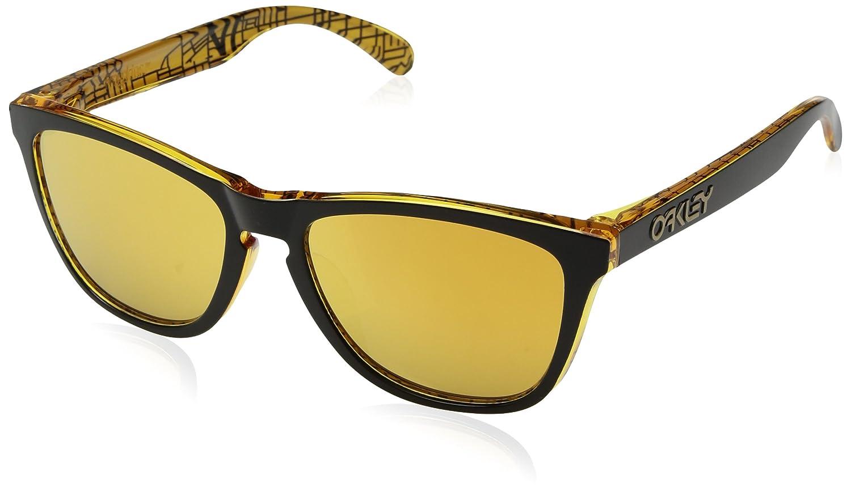d88efa6af1 Amazon.com  Oakley Men s Frogskins Urban Commuter LA Asian Fit  Sunglasses