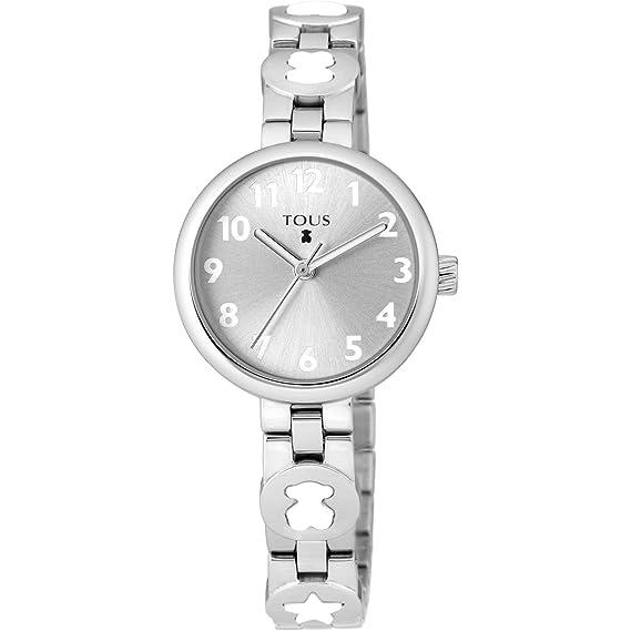 RELOJ BAHIA ACERO MOTIVOS COLOR BLANCO TOUS 700350015: Amazon.es: Relojes