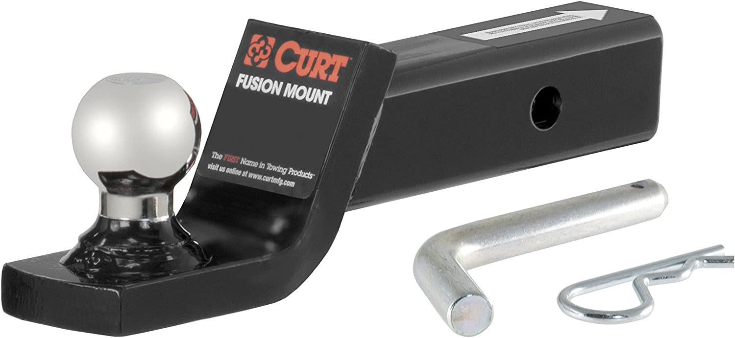 CURT Trailer Tow Package w// 1 7//8 Ball Mount w// 2 Drop for 12-16 Dodge Journey