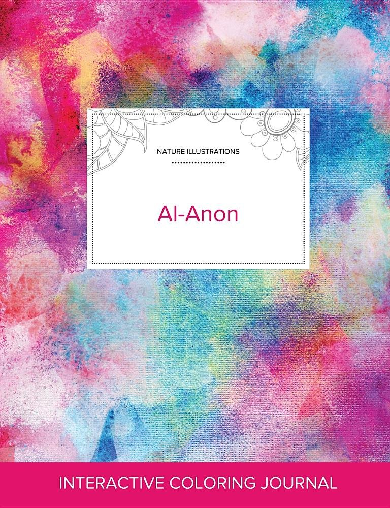 Adult Coloring Journal: Al-Anon (Nature Illustrations, Rainbow Canvas) ebook