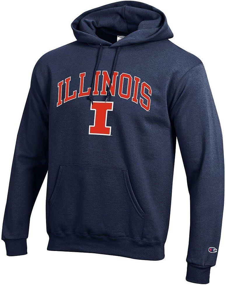 Elite Fan Shop NCAA Mens Team Color Hoodie Sweatshirt Arch