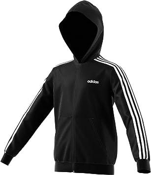 adidas Performance Kinder Sweatjacke schwarz 176: