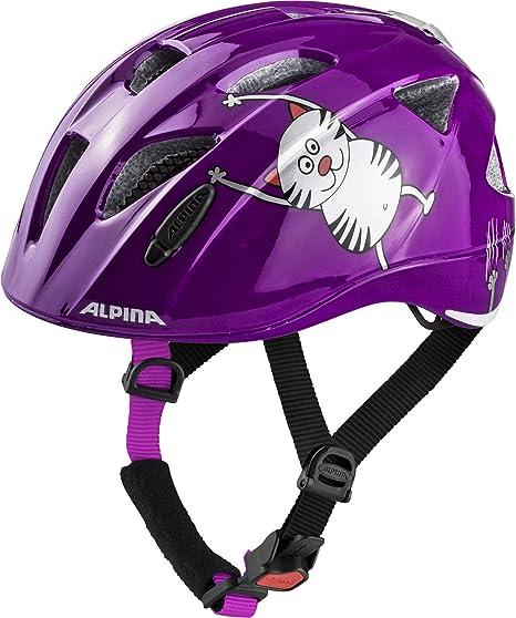 ALPINA XIMO Flash Helm 2019 Purple Cat  Amazon.it  Sport e tempo libero 069fc826f094