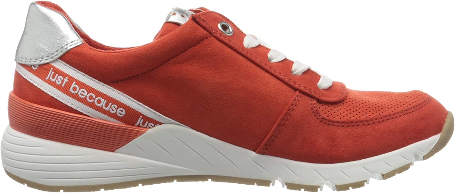 MARCO TOZZI Damen 2-2-23739-34 Sneaker Orange Burn Orange Core 621 VwVBz