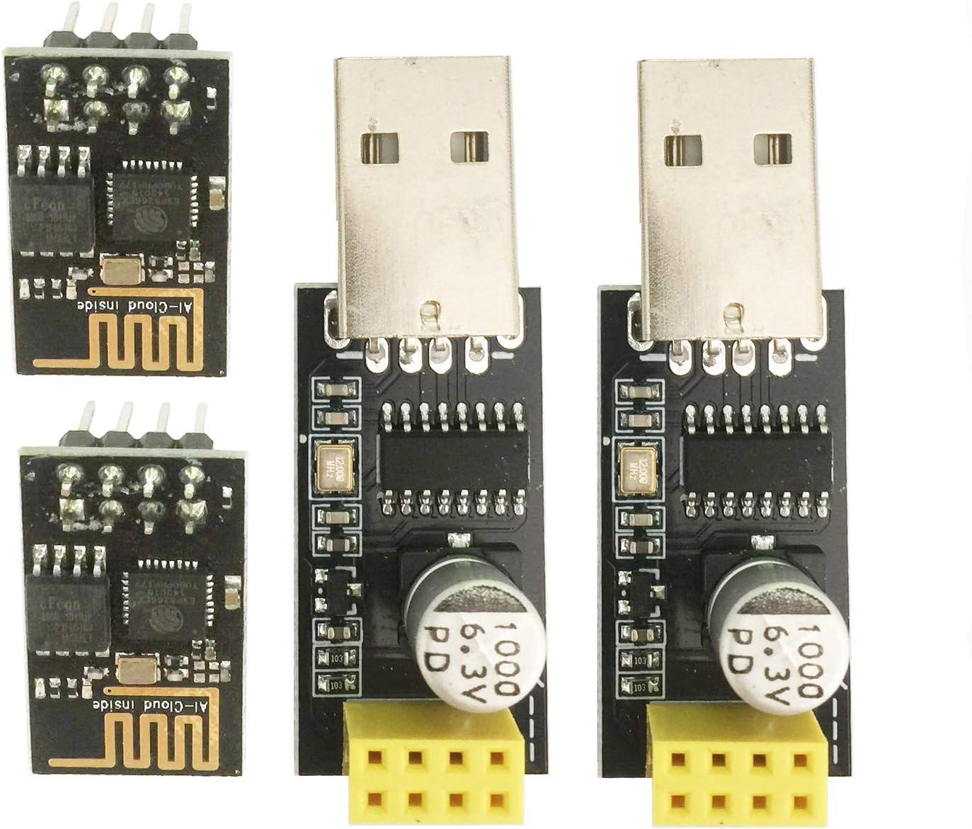 5PCS  Module WIFI Adapter ESP8266 ESP-01S Serial for Arduino Raspberry Pi 3