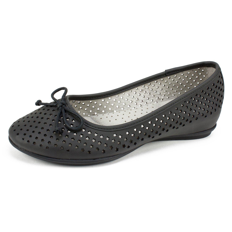 CLIFFS BY WHITE MOUNTAIN Shoes Maryrose Women's Flat B07C25Z8PB 8 B(M) US|Black