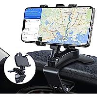 Soporte Móvil para Coche, TBONEEY Soporte de Celular para Auto 3 in 1 Espejo Retrovisor Visera Dashboard Phone Holder…