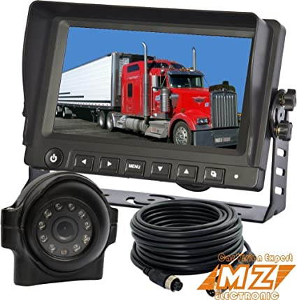 """2 RV CAMERAS FOR AGRICULTURE FARM 7/"""" DIGITAL REAR VIEW BACK UP CAMERA SYSTEM"""