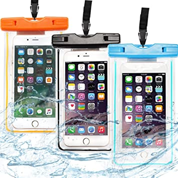 Caselover 3X Funda Móvil Impermeable, Bolso Sumergible Waterproof ...