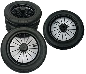 12,5 Zoll Kinderwagenräder Kinderwagenrad Kinderwagen Ersatzrad Räder 4 Stück