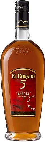 El Dorado Rum 5 Jahre (1 x 0.7 l): Amazon.es: Alimentación y ...