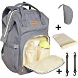 Amazon Price History for:Diaper Bag Backpack,Muykid Multi-Function Waterproof Travel Backpack Changing Pad Nappy Baby Care Bags for Moms & Dads, Large Capacity, Stylish and Durable, Gray
