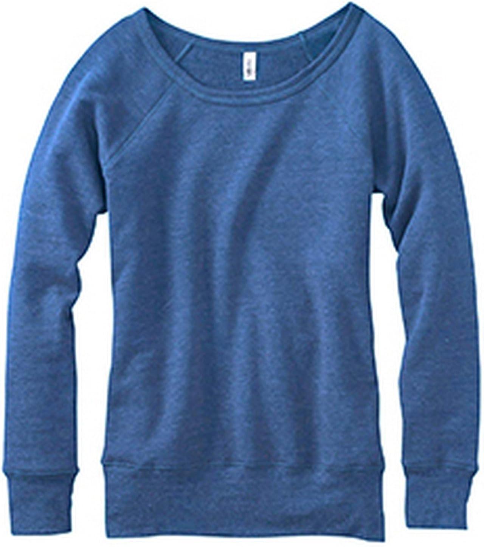 Bella Canvas Ladies Fleece Wide Neck Sweatshirt