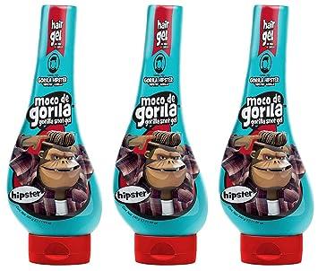 Amazon.com: Moco de Gorila Hipster Gel de pelo de moda con ...