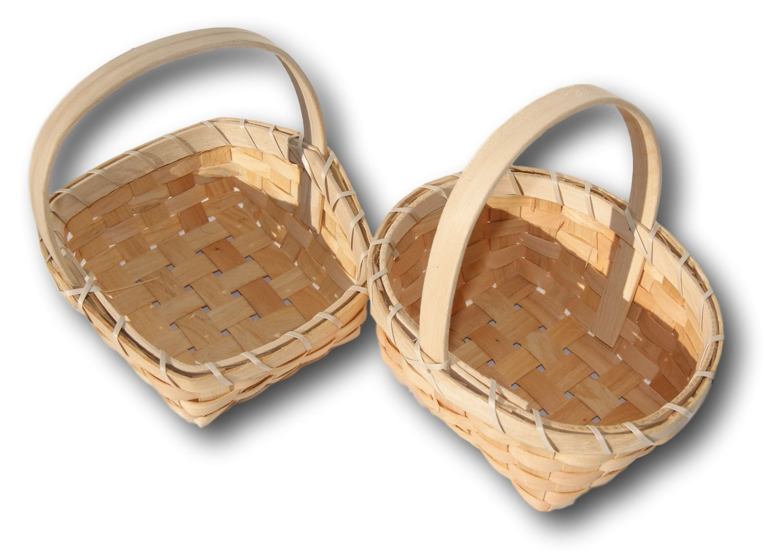 Small Woodchip Country Basket - Set of 6 Styles by Berrygood (Image #4)