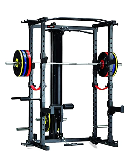 Altas Strength Al 3028 Squat Power Rack With Latpull Tower Barbell Lifting Pull Up Weight Stand Light Commercial Equipment Cages Canada