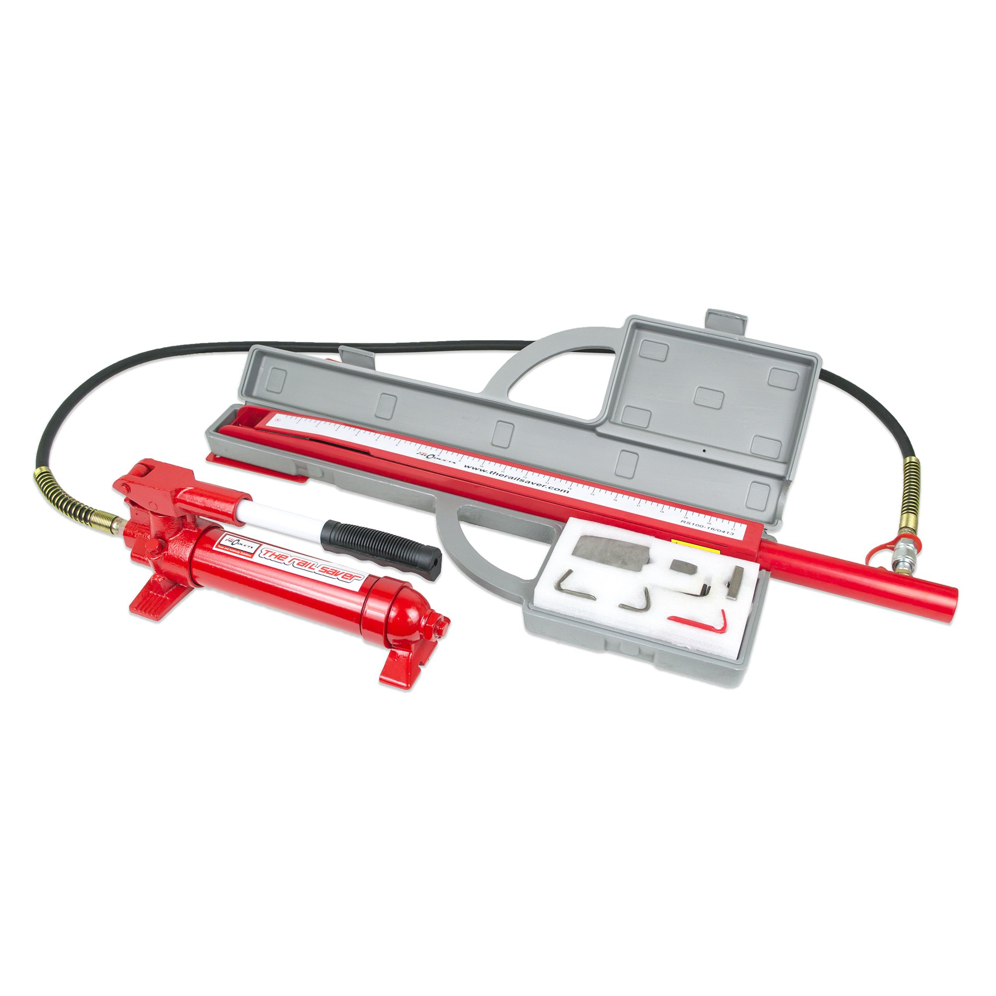 TG Products The Rail Saver Repair System, Accessory Kit, Ram, Case and Wall Bracket (with Pump)