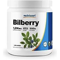 Nutricost Bilberry Powder 500 Grams - Gluten Free And Non-Gmo