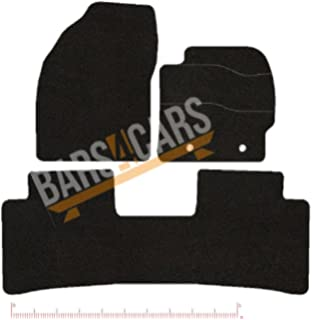 2014 ONWARDS NISSAN PULSAR TAILORED RUBBER CAR MATS WITH BLUE TRIM 3446