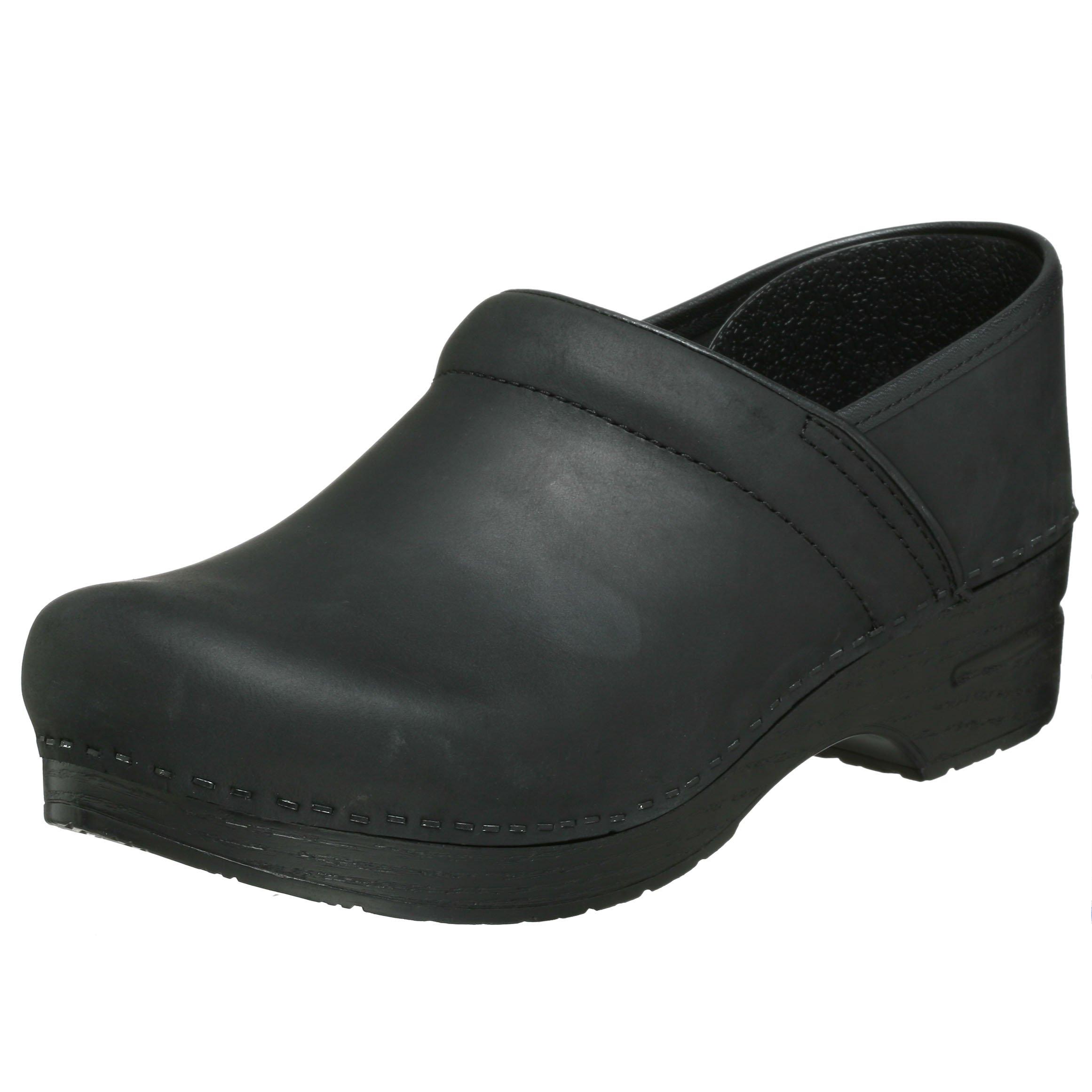 Dansko Professional Leather, Black 48 (US Men's 14.5-15) Regular