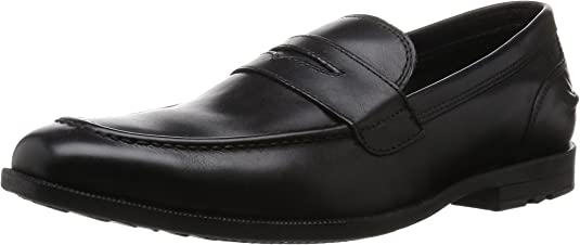 TALLA 42.5 EU. Rockport Global Road Moc Penny, Mocasines para Hombre