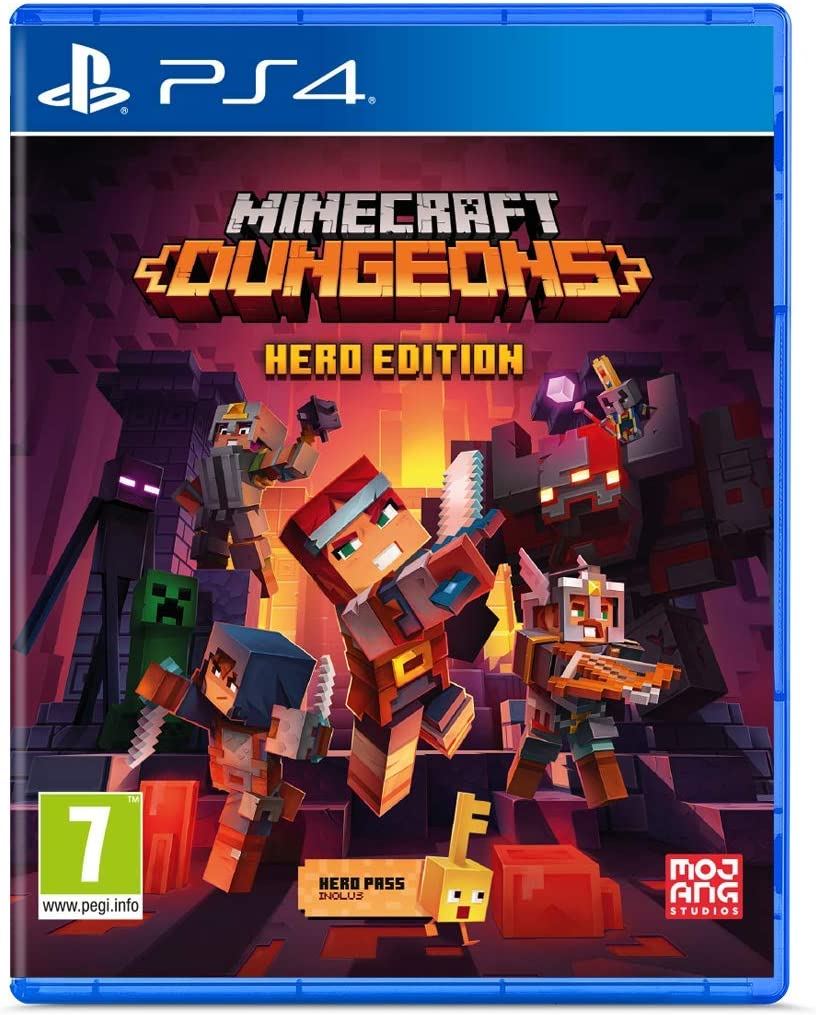 Minecraft Dungeons - Hero Edition - PS4 | Mojang. Programmeur