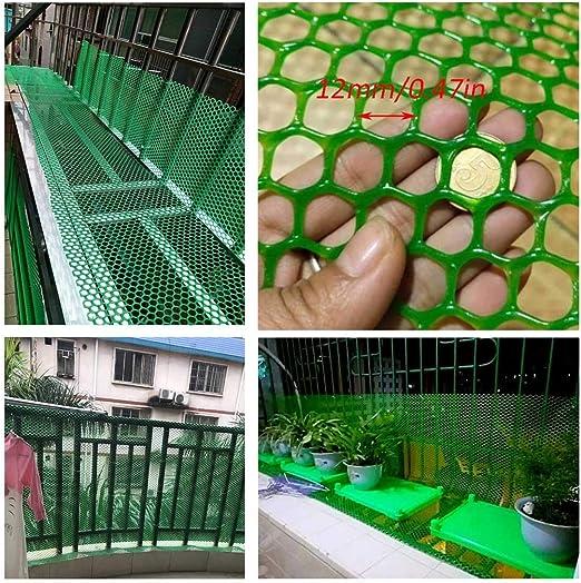 Seguridad Extraíble Niños Neto Plástico Durable Balcón/Escalera De Red De Seguridad For Los Niños Barandilla Seguridad De Los Juguetes For Mascotas, Interior Y Exterior Escaleras Balcón O Patio: Amazon.es: Productos para mascotas