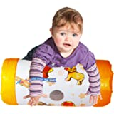 Inflatable Baby Roller Music Rattle Sound Crwaling Pushing Activity Toy