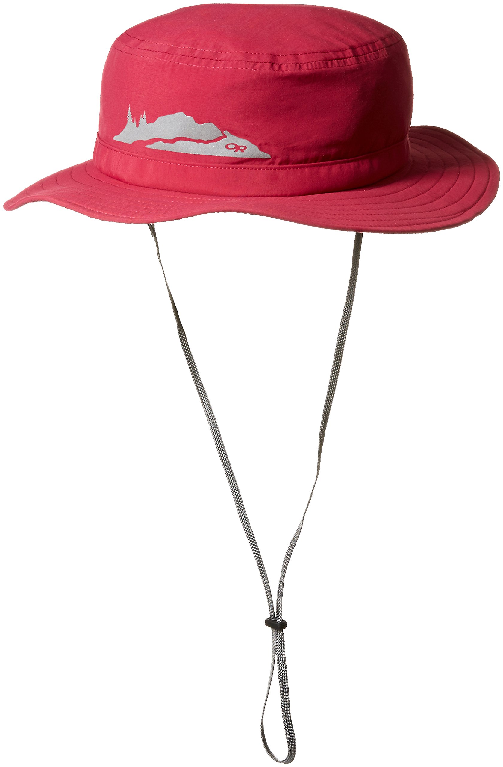 Outdoor Research Kids' Helios Sun Hat, Raspberry, Large