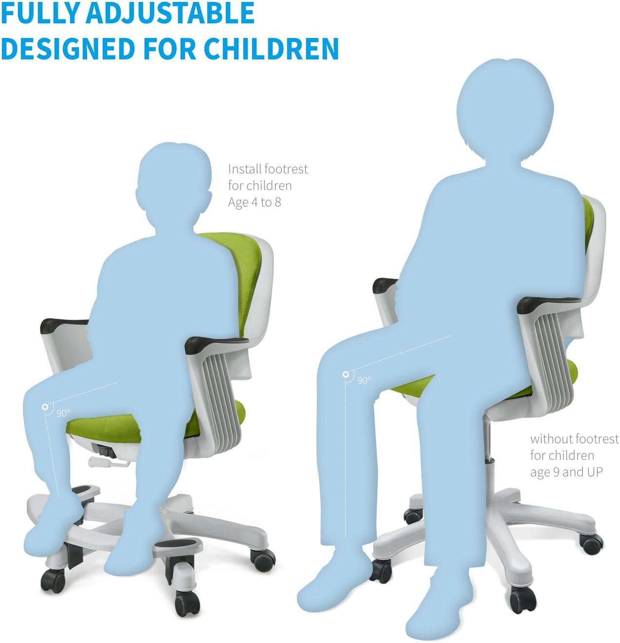 Los niños Silla de escritorio para niños estudiante estudio de ...