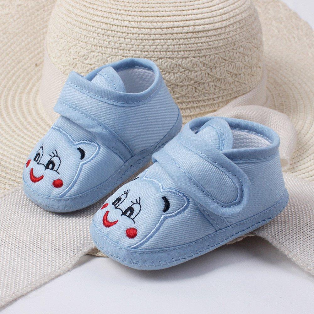 Miss Fortan Primeros Zapatos para Caminar Zapatillas Ni/ña Oso de Dibujos Animados Zapatos Beb/é Fondo Blando Antideslizantes para Ni/ña Ni/ño Calzado Sandalias C/ómodo Encantador
