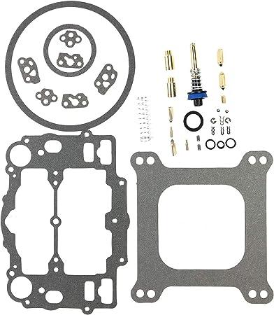 Carburetor Rebuild Repair Kit for Edelbrock 4 bbl Carb /& Carter 9000 series AFB