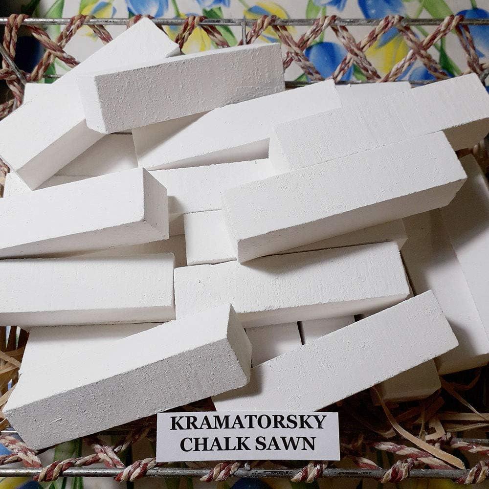 Chalk edible eating Chalk edible Sawn Kramatorsky 1 Lb 450 gr. Natural Chalk