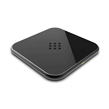 GC® 10W Qi Cargador Inalámbrico Rápido Inductivo Carga Rápida compatible con Samsung Galaxy S10 S10+ S10e S9 S9+ S8 S8+ Note 8 9 | Apple iPhone 8 8 ...