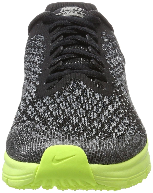 Nike Air Max Sequent 2 (GS), Zapatillas de Gimnasia para Niños, Negro (Black/Mtlc Cool Grey-Anthracite), 40 EU