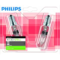 Philips Ampoule EcoHalogène Tube spécial Culot E14 28 Watts consommés Equivalence incandescence : 35W