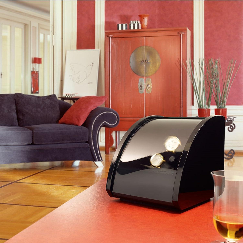ElmaMotion Uhrenbeweger STYLE 2 schwarz Klavierlack