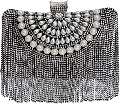 Evening Bags For Womens Clutches Purse Strap Event Handbags Makeup Wedding Rhinestones
