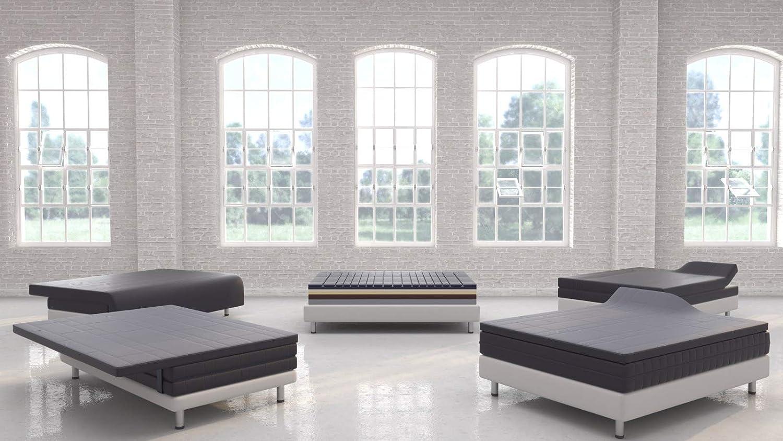LANGEL SYSTEM (160 x 200 x 6cm) Espuma Air Flow 🌐 D-50 kg/m3, dureza 2,40 kpa ♻ Espuma de colchón Alta Densidad con Aceite de Soja para colchón y Topper.