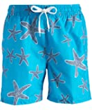 Kanu Surf Men's Starfish Quick Dry Beach Volley Swim Trunk