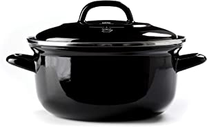 BK Cookware CC002461-001 Dutch Oven 2.5QT, Black