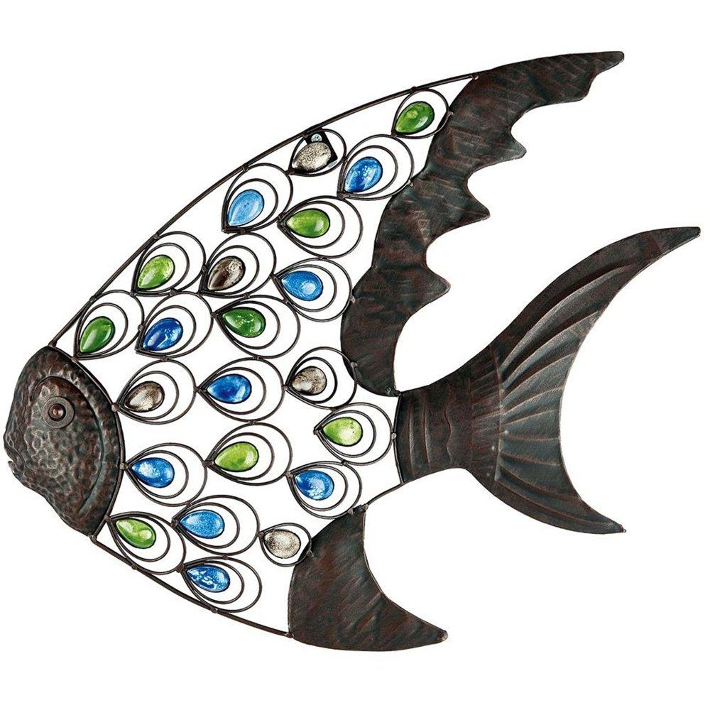 Amazon gardman 8458 tropical fish wall art 2125 wide x 18 amazon gardman 8458 tropical fish wall art 2125 wide x 18 high garden outdoor amipublicfo Image collections