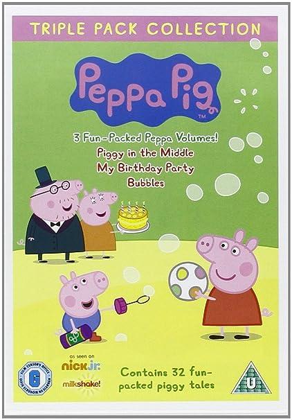 Peppa Pig Bumper Pack 12 Disc Vol 1-12 DVD Reino Unido: Amazon.es: Peppa Pig-Bumper Pack: Cine y Series TV