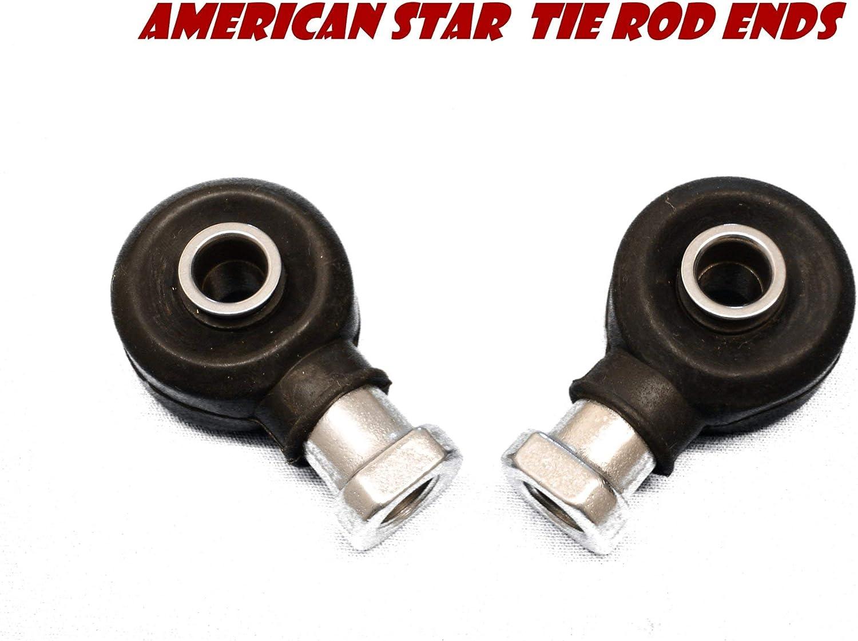 2 American Star Polaris Chromoly Tie Rod Ends Ranger 4x4 700 05-09