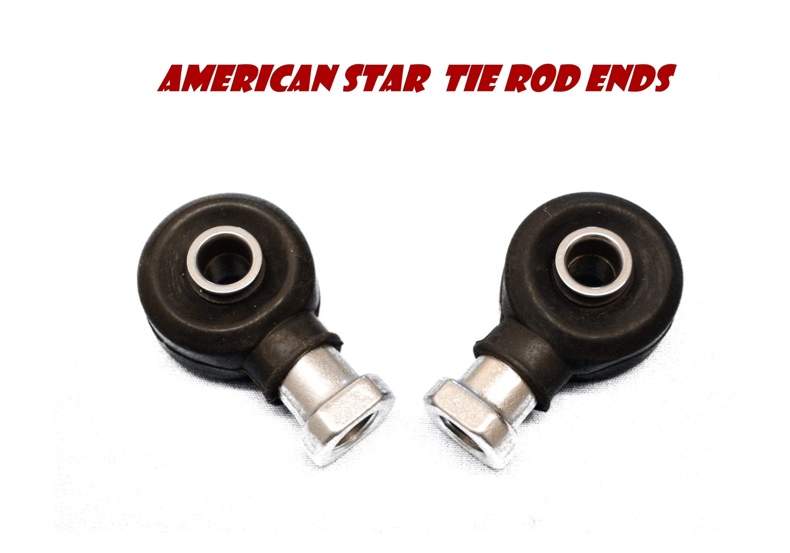American Star 4130 Chromoly Polaris RZR & Ranger Outer Tie Rod Ends (2) for RZR XP 900 11-up, RZR 800 08-14, RZR 570 12-18 - Replaces Part # 7061054, 7061138, 7061053, 7061139, 7061019, 7061034