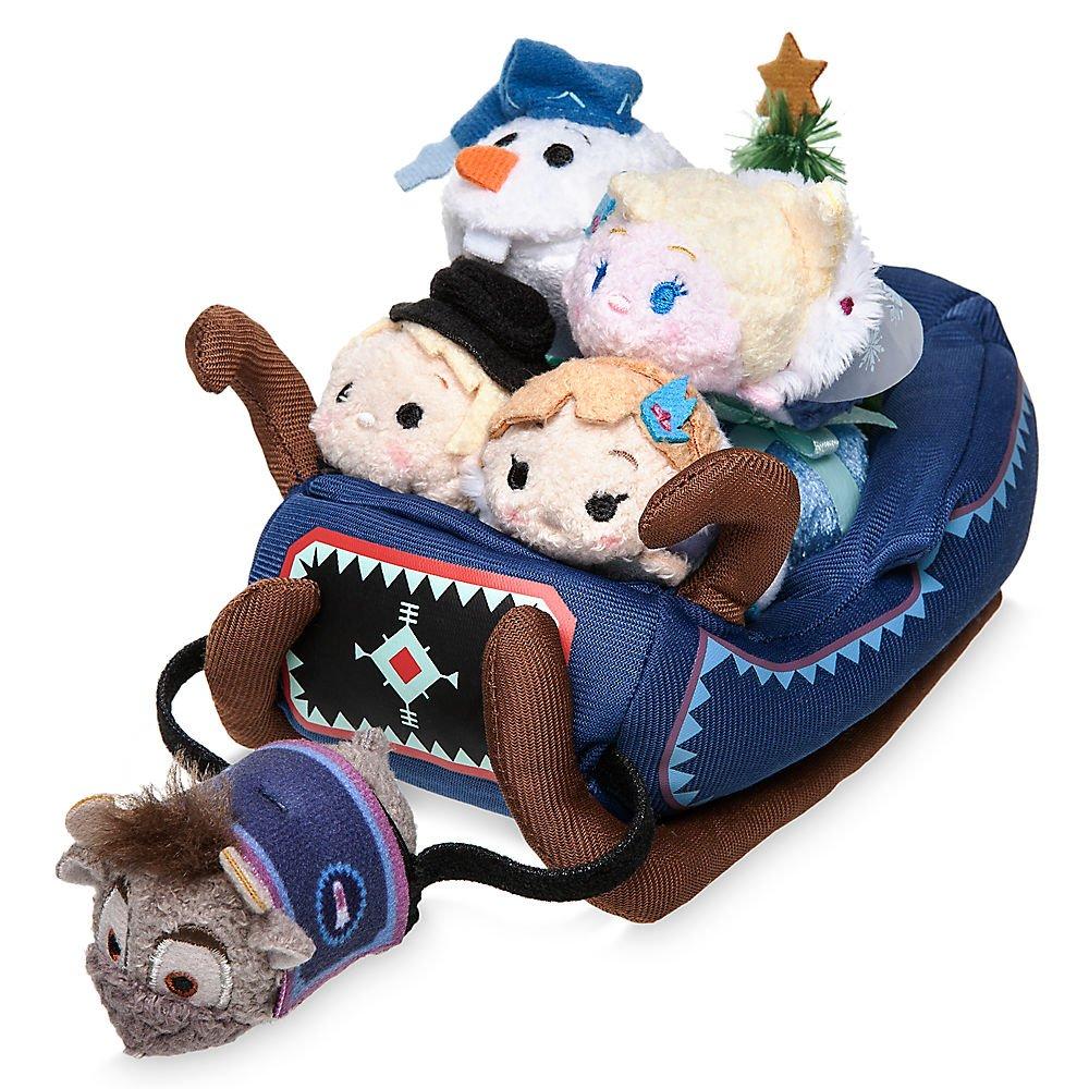 Disney Frozen Tsum Tsum Plush Set with 5 Micros 412344933850