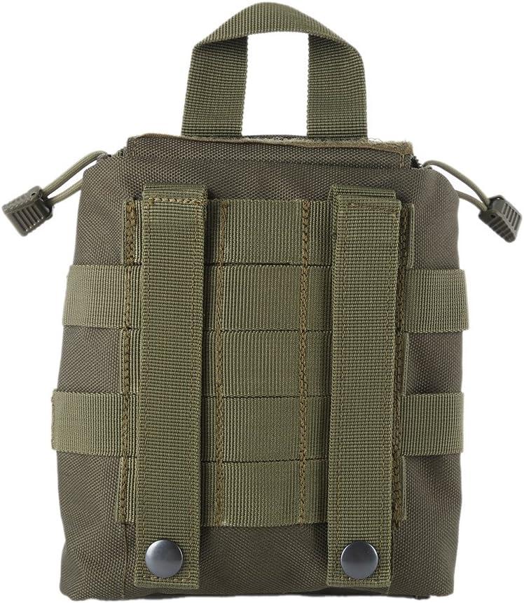 Wynex Sacs de Premiers Secours EMT Tactique IFAK m/édical Molle Pochette Militaire Urgence EDC Pochettes de Survie Ext/érieur Kit de Survie Tactique Ceinture Pack 1000 Nylon