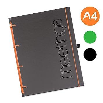 Schaar-Design flexiNotes® - Agenda Meetingbook rellenable ...